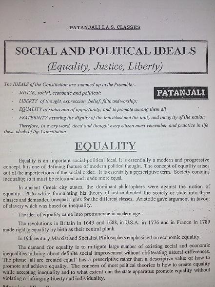 Patanjali-Philosophy - Class Notes