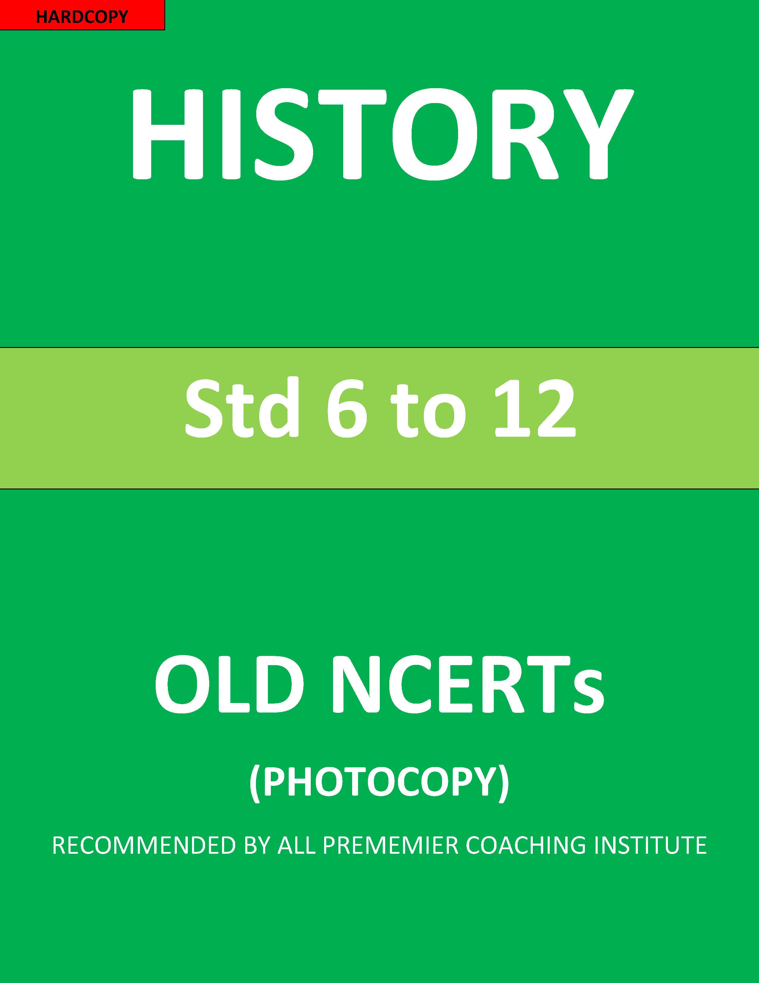 OLD NCERT WORLD HISTORY EBOOK