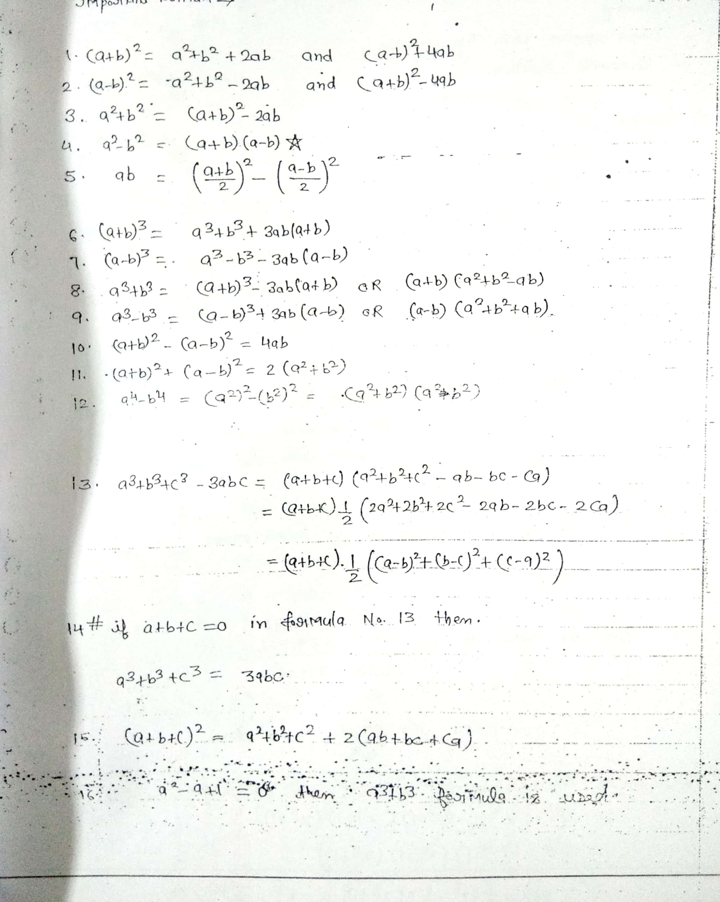 SSC - CGL - Maths - Bhagwati Sir - Class Notes