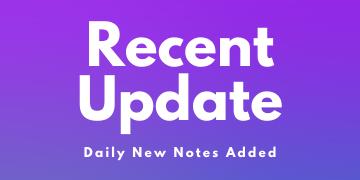 Recent Update